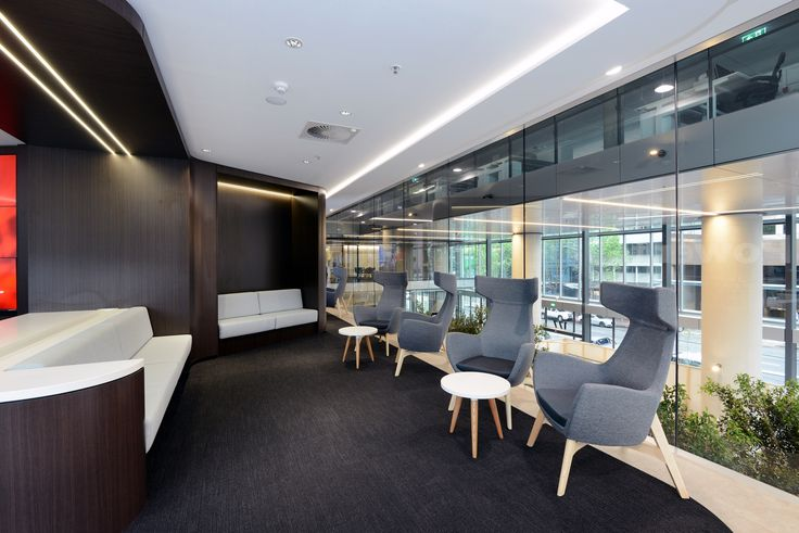 CARM chairs at the Vodafone Headquarters project by Burgtec & Nineto