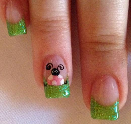 Nails by Sarah: Animals + Animal Prints  Lady BUg