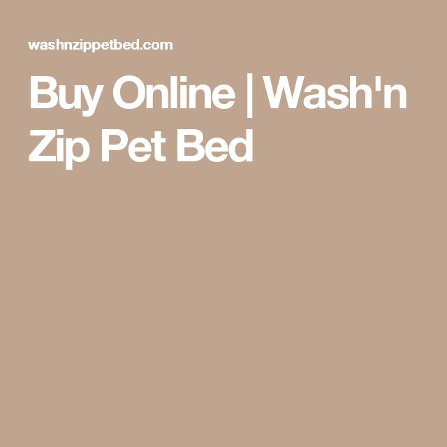 Buy Online | Wash'n Zip Pet Bed