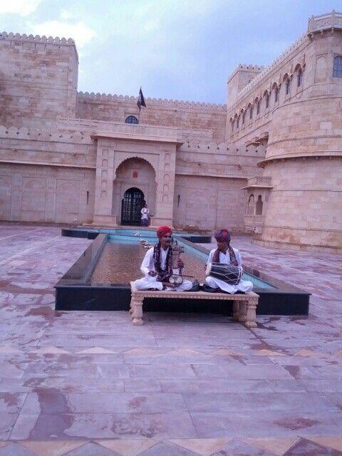The beautiful Suryagarh resort in Jaisalmer - a royal welcome!  suryagarh.com