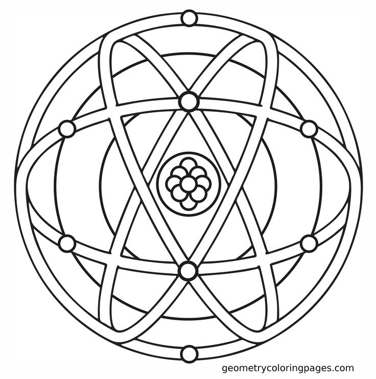 sacred geometry coloring pages - photo #22