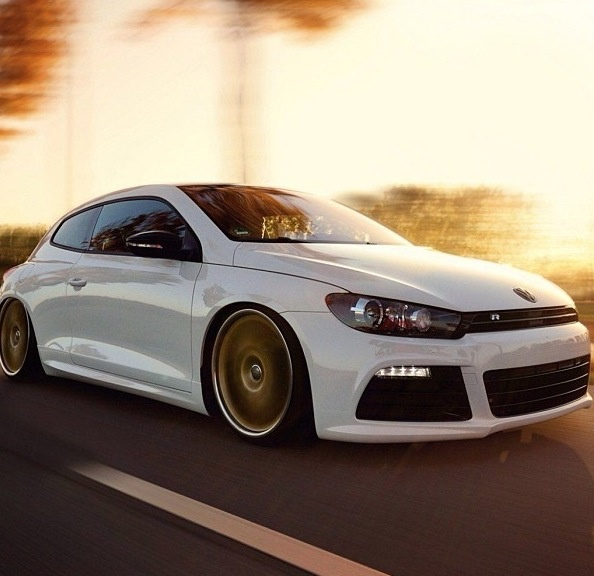 VW Scirocco R. Car of the Day: 21 September 2015.