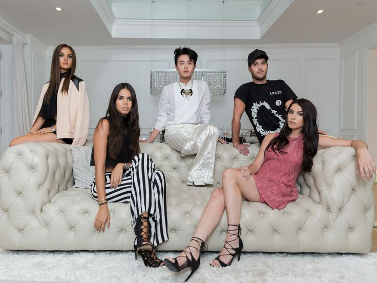 Spend the Night With the Snap Pack, Manhattan's Most Elite Clique ... Danielle Naftali Alana Miller Andrew Warren Reya Benitez