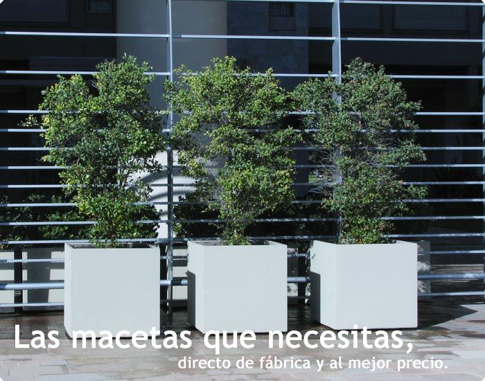 Macetas Argentinas - Macetas de Fibrocemento - Fábrica de macetas