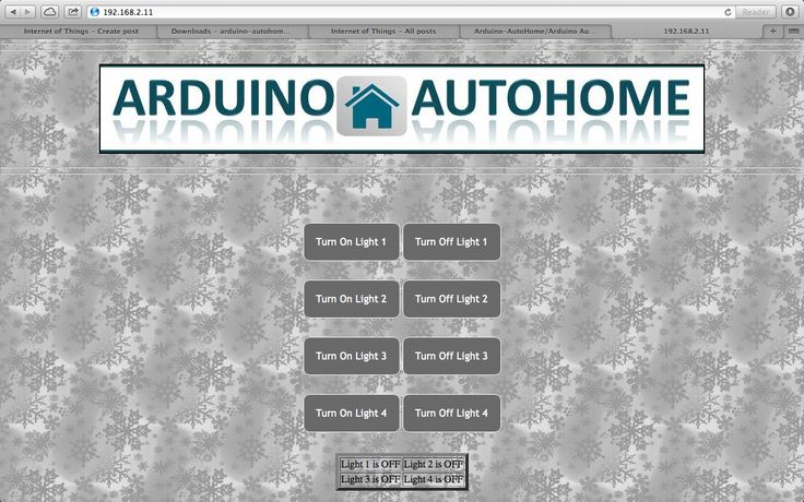 Internet of Things : Open Source Home Automation Project using Arduino UNO + Ethernet Shield