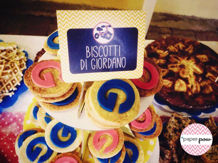 Food tag #party#foodtag#food#baby#DIY#handmade#biscuits#paper#paperpow