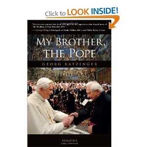My Brother, the Pope by Georg Ratzinger: This book provides a look into the life of Pope Benedict XVI from his brother's perspective.