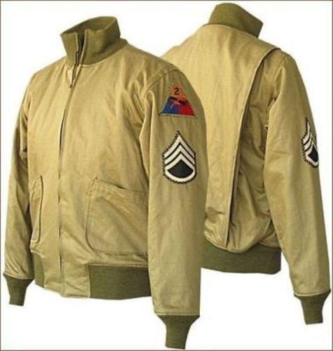 Ww2-Cachi-CISTERNA-Fury-Militare-Giacca-Bomber-Marrone-PROPOSTA-D-039-ACQUISTO