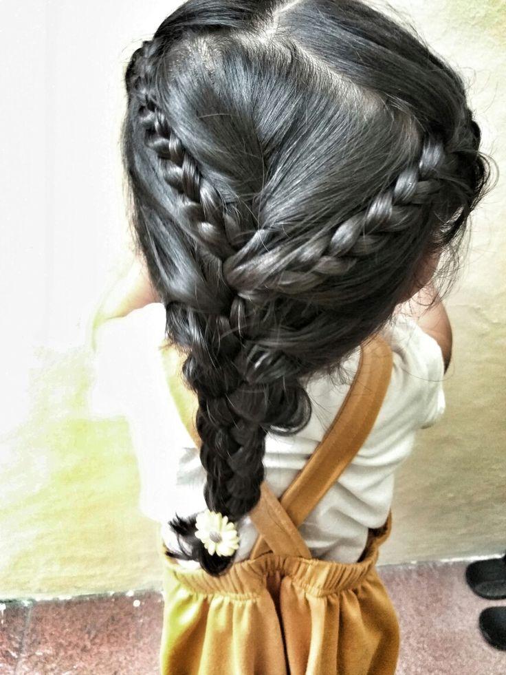 Qei's Style #Braidkids #hairstyleforkids #hairstyle #braidstyle #braid #qeishairstyle #hairdo #kidshairdo