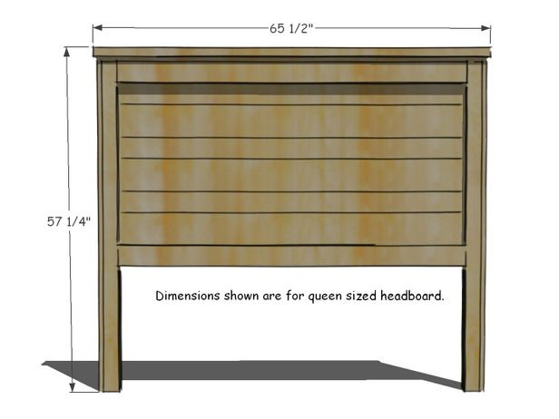 Easy to do wood headboard for newbie woodworkers can be completed in a weekend for less than $100.  Rustic Yet Chic Wood Headboard - on HGTV