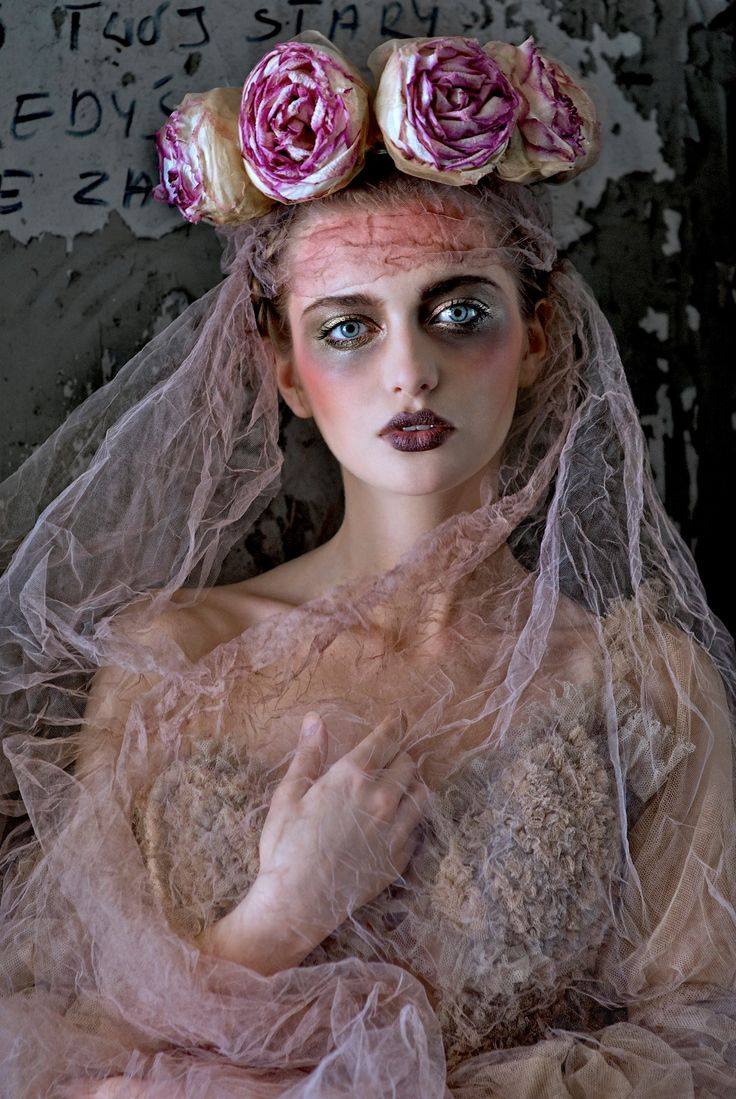 ☫ A Veiled Tale ☫ wedding, artistic and couture veil inspiration - - pink