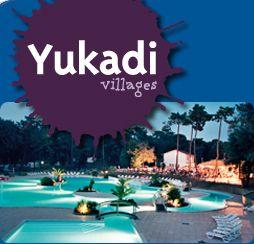 Camping, emplacements, Camping Le Logis, Yukadi Villages