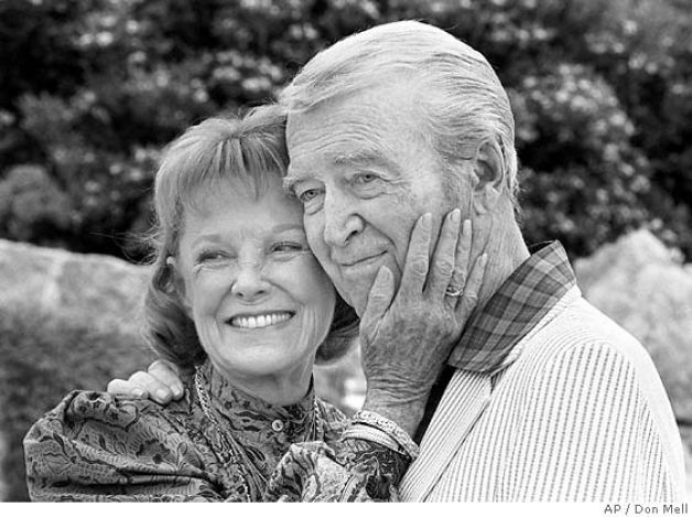 June Allyson and James Stewart Lovely photo!