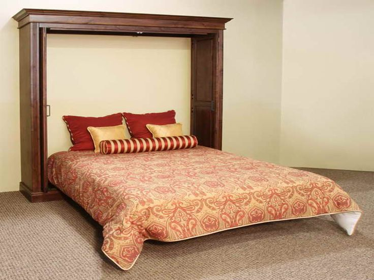 best 25 full size murphy bed ideas on pinterest murphy bed plans murphy bed frame and diy. Black Bedroom Furniture Sets. Home Design Ideas