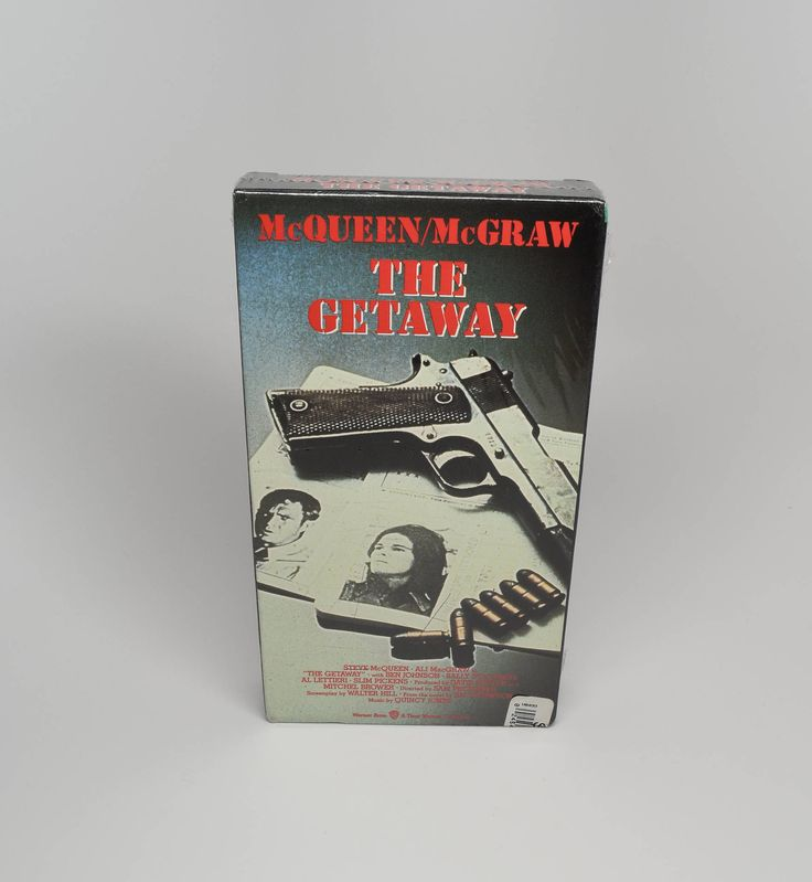 The Getaway Movie ~ Brand New Never Opened VHS Movies ~ The Getaway ~ Steve McQueen Movies ~ Ali MacGraw Movies ~ Drama Movies ~ VHS Movies by REDSTONEVINTAGE on Etsy
