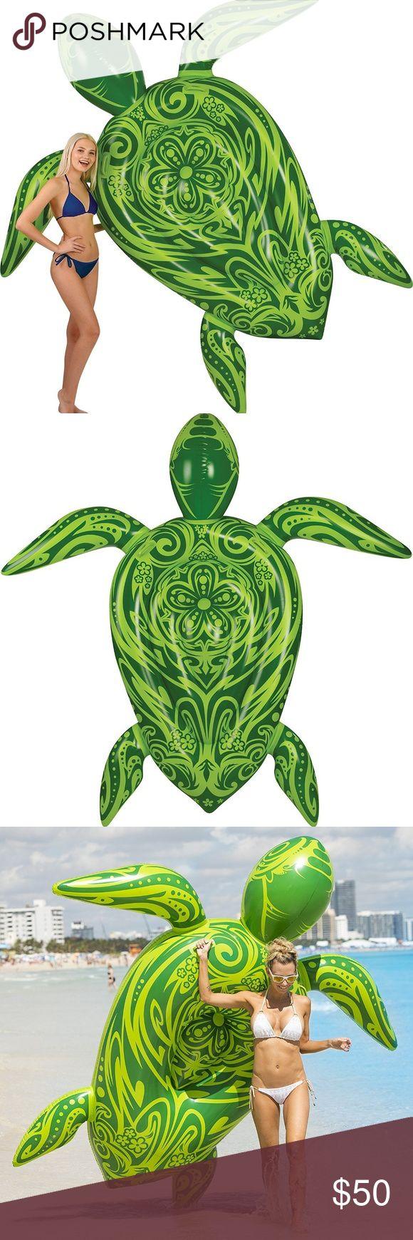 Gigantic Sea Turtle Pool Raft 8 Feet Brand new. Top summer inflatable pool toy f…