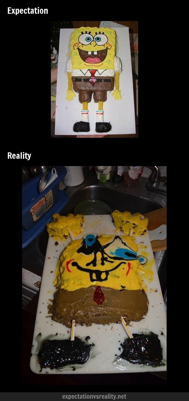 expectation vs reality | Baking... | Expectation Vs ...