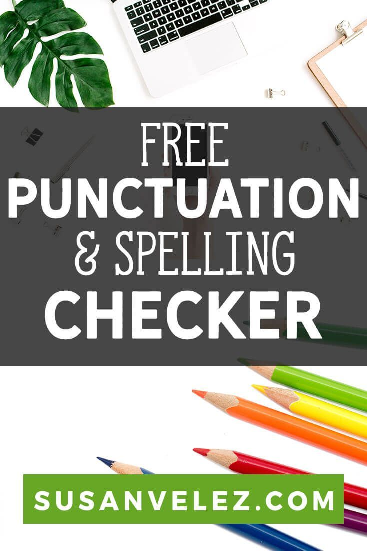 punctuation checker and corrector