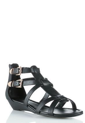 Cato Fashions Gladiator Wedge Sandals #CatoFashions