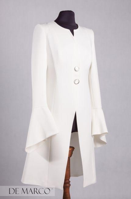 Ekskluzywny płaszcz do sukienki   dedykowany mamie Pana Młodego  / Pani Młodej   http://www.sklep.demarco.pl/pl/plaszcz-iryda?utm_content=buffer7e5ff&utm_medium=social&utm_source=pinterest.com&utm_campaign=buffer  #demarco #moda #szycie