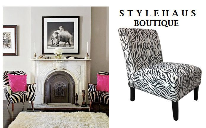 Stylish Zebra Chair @ Stylehaus Boutique - Stylehaus Boutique, Clothing Retailers, Mile End, SA, 5031 - TrueLocal