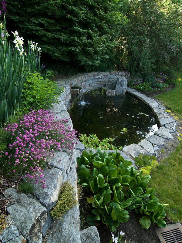 17 migliori idee su fontane da giardino su pinterest - Fontane a cascata da giardino ...
