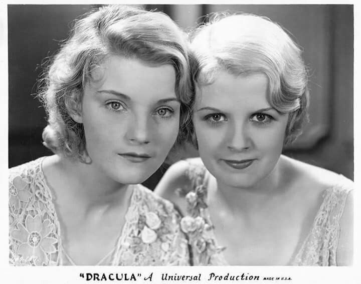 Helen Chandler and Frances Dade