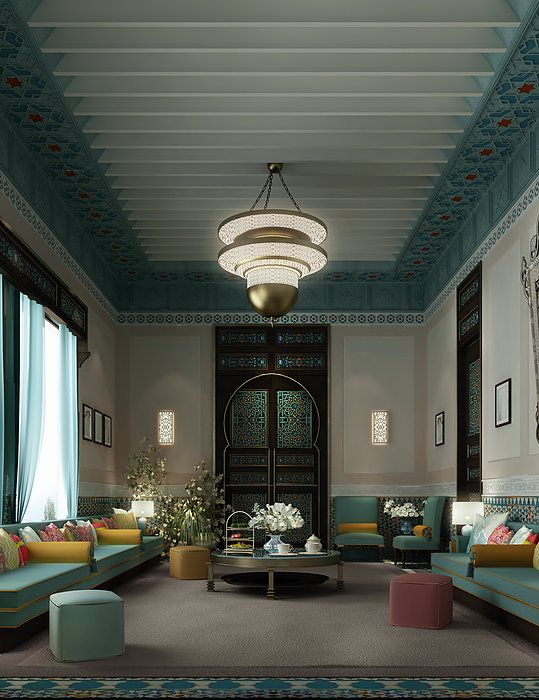 Arabic Majlis Interior Design Decoration Enchanting Decorating Design