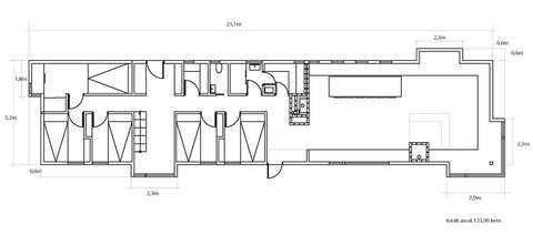 PLANLØSNING: Arkitekt Torbjørn Tryti i taktil.no forteller at det først og fremst handler om å bygge en hytte som gir svar på de utfordringene han får som arkitekt. Størrelse: 124 m². Rominndeling: Fem soverom, bibliotek, hems, allrom med stue åpent mot kjøkken, bad, badstue. En tommelfingerregel ved bruk av arkitekt er at prisen blir 10 prosent av totalkostnadene, eksklusivt tomtepris.