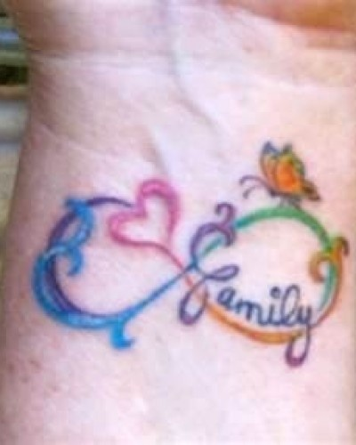 Infinity Tattoo With Sister Instead, Indo Not Want A