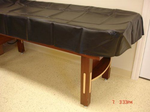 12' Black Shuffleboard Table Cover by Champion. $89.99. 12' Table Cover - Heavy Duty Cloth Back