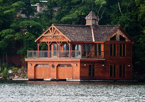 309 best floating on water images on pinterest floating for Boat garage on water