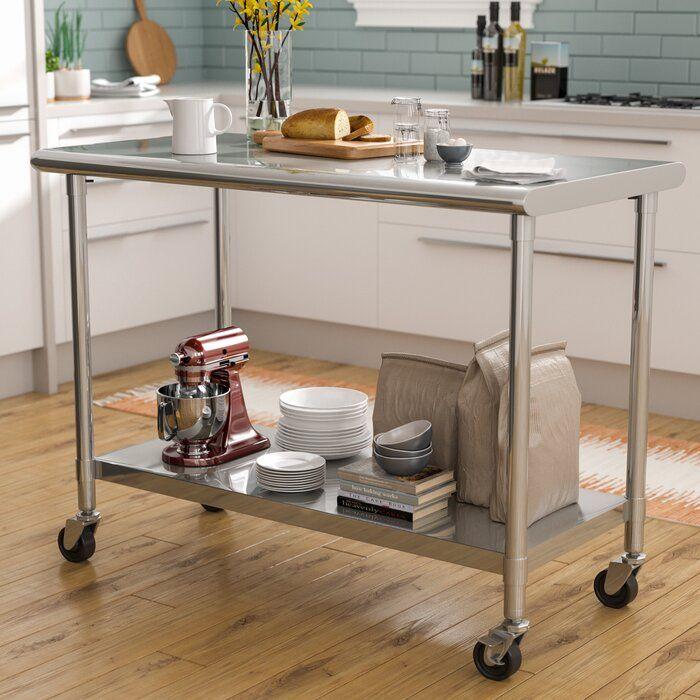 prep table  kitchen design small kitchen remodel