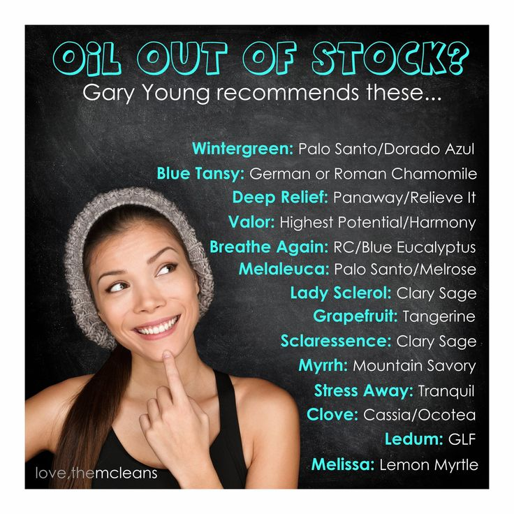 Young Living, Essential Oils: Suggestions for Out of Stock Oils http://anewyoustacy.wordpress.com/2014/10/25/young-living-essential-oils/