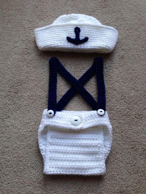 Free Knitting Pattern Baby Sailor Hat : 25+ best ideas about Newborn crochet on Pinterest Crochet baby hats, Baby b...