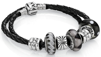 Ink - Pandora Finished Bracelets :: Little Treasure Trove