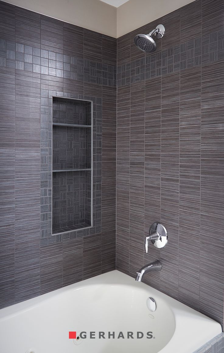 14 best hallway images on pinterest hallways flooring ideas and tile shower with storage and polished chrome trim 3 side tile shower with shelving dailygadgetfo Gallery