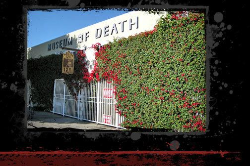 The Museum of Death –Largest collection of Serial Killer Art YIKES!  Los Angeles, California | Atlas Obscura