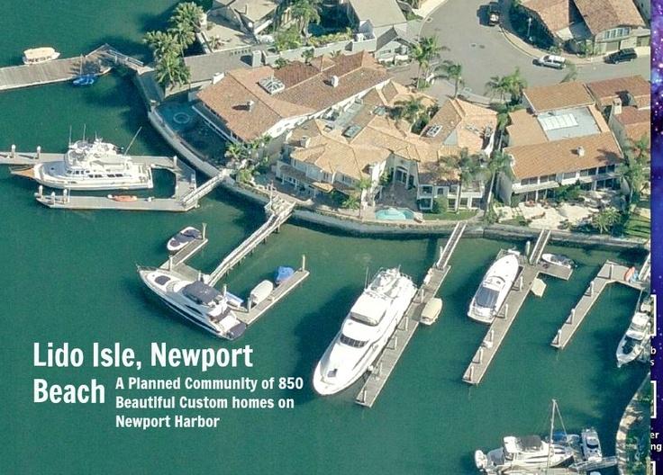 Lido Island Yacht Club Newport Beach Ca