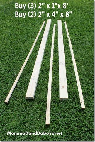 DIY Trellis, Wood Trellis, Obelisk Trellis