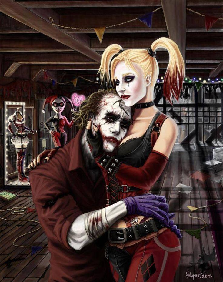 Pin on The Joker & Harley Quinn