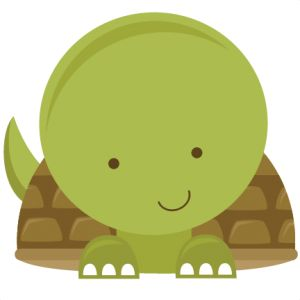 Baby Turtle SVG file for scrapbooking - free svgs