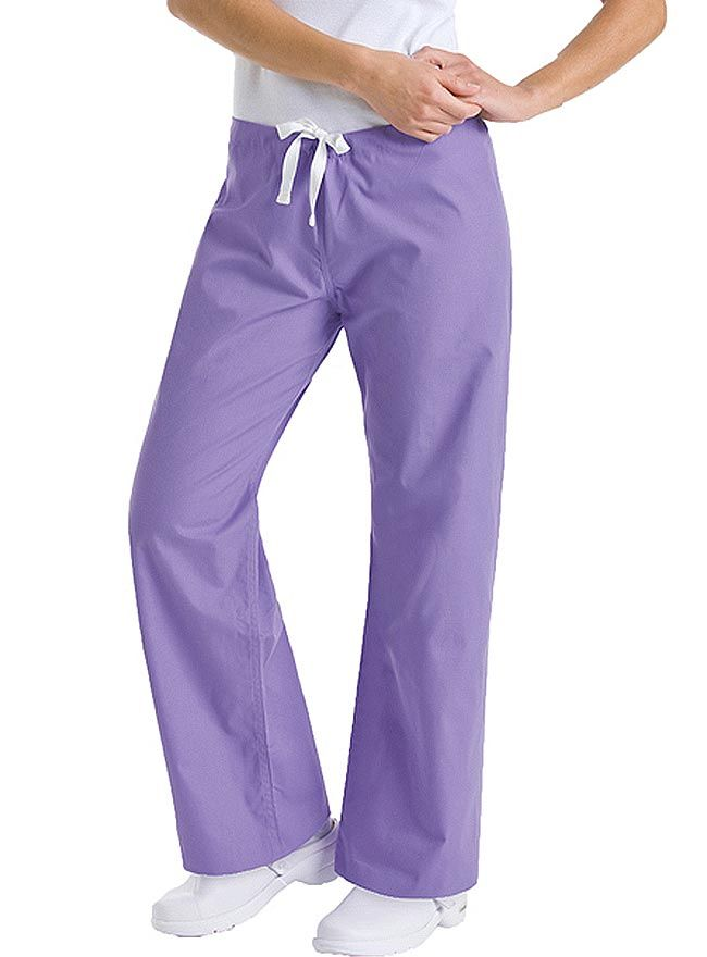 Style Code: (UR-9502) Fashion and work can go together even when you're always on the move with one of the bestseller scrub pants from Urbane. It's fit and fun to use. The Urbane boot cut low-rise pants add flair to your scrubs with its modern drawstring waist. It has no side seam, which ensures a smooth silhouette. It has a single back pocket with Urbane logo, and is available in Regular, Petite Tall Sizes.