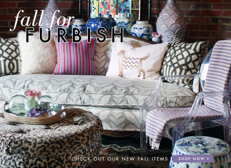 Home Decor and Interior Decorating | Furbish Studio in downtown Raleigh NC.