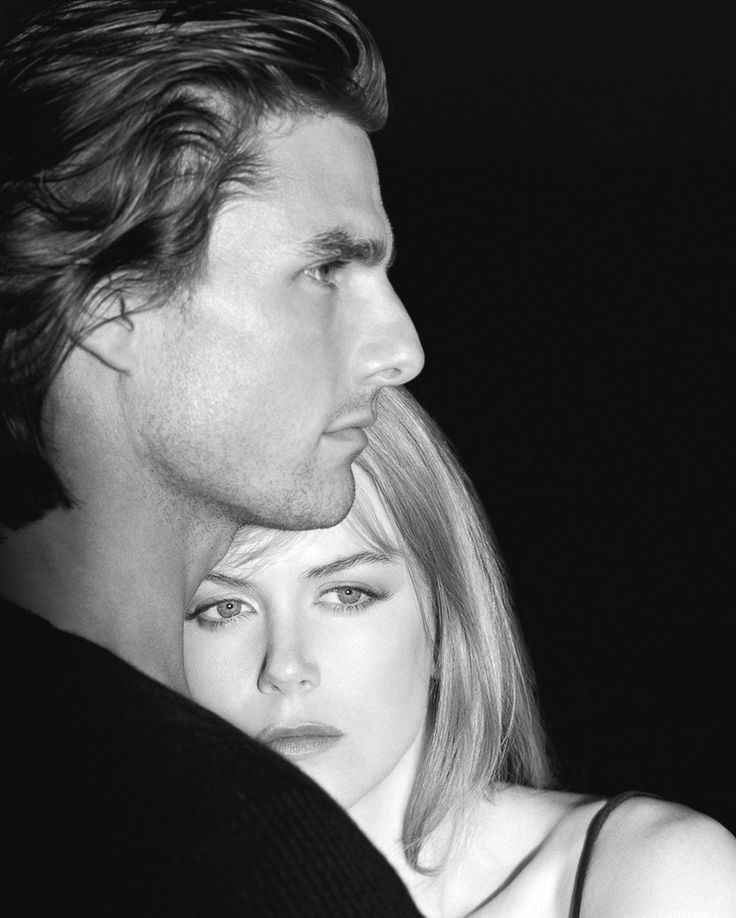 """Eyes Wide Shut""_""For in much wisdom is much grief; and he who increases knowledge increases sorrow..."" (Tom Cruise & Nicole Kidman photographed by Herb Ritts, 1999)"