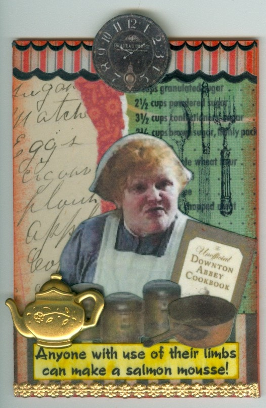 Mrs. Patmore ATC...Downton Abbey