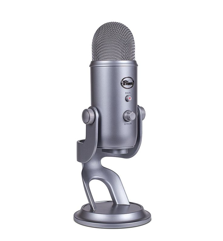 Amazon.com: Blue Yeti USB Microphone - Space Gray: Musical Instruments
