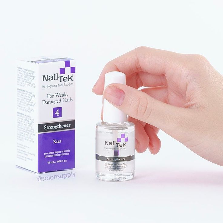 This @nailtekofficial strengthener is a miracle worker! What is your favorite nail treatment?  P.s. Pick up a bottle of this by clicking the ink in bio!