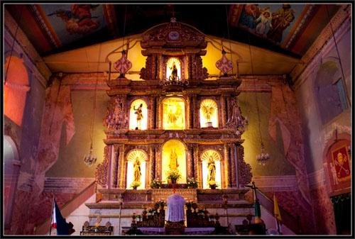 Baclayon Church Altar