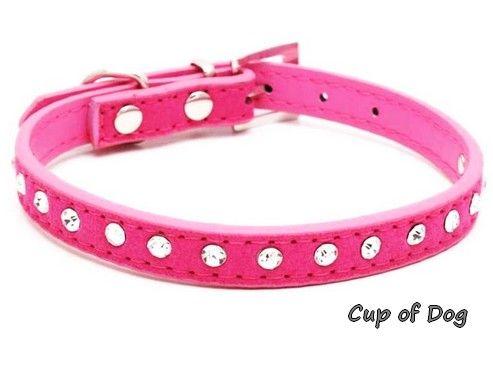 Collier Diamond Bright Pink https://www.cupofdog.fr/collier-harnais-chihuahua-petit-chien-xsl-243.html